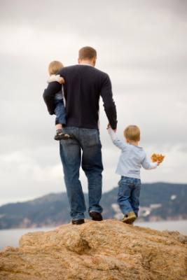 papa et les enfants