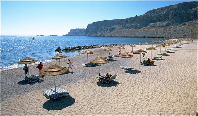 soleil à la plage